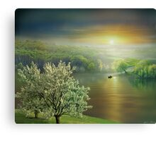 Lucid Waters Canvas Print