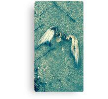 Bird Person Canvas Print