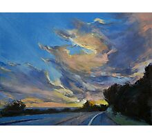 The Road to Sunset Beach Photographic Print