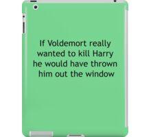 Wizards are useless iPad Case/Skin