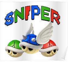 Mario Kart Shell Sniper Poster