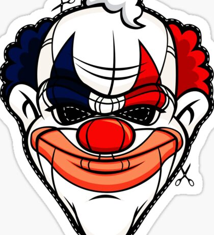 Clown 578 Sticker