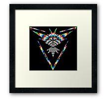TEAM INSTINCT - PSYCHEDELIC Framed Print