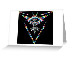 TEAM INSTINCT - PSYCHEDELIC Greeting Card