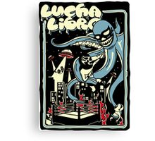 LUCHA OUTBREAK Canvas Print