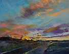 Desert Highway by Michael Creese