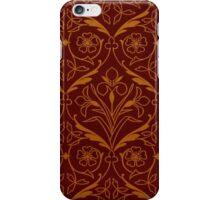 Orange and Red Decorative Spring Flower Design iPhone Case/Skin