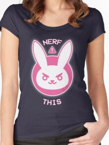 NERF THIS Women's Fitted Scoop T-Shirt