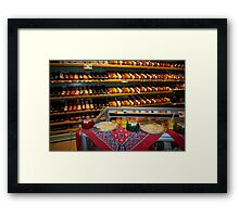 Cheese, cheese and... cheese Framed Print
