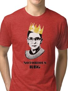 Notorious RBG T-shirt - The Queen RBG T-shirt 2 Tri-blend T-Shirt