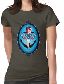 Anchor chick Womens Fitted T-Shirt