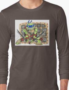 Leonardo - Chibi Long Sleeve T-Shirt
