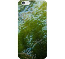 Green algae, Macro photography, Nature iPhone Case/Skin