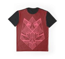 Trex Head - Red Graphic T-Shirt