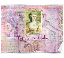 Marie Antoinette  Let Them Eat Cake quote   Poster