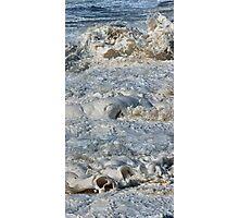 Splishy Splash of a foamy Momenary Water Sculpture Photographic Print
