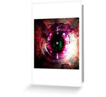 Eye of The Machine Greeting Card