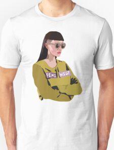 Feminist (Purple) Unisex T-Shirt
