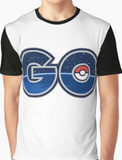 Pokemon GO letters Graphic T-Shirt