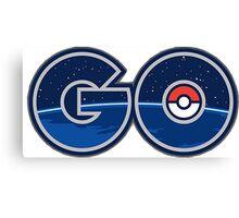 Pokemon GO letters Canvas Print