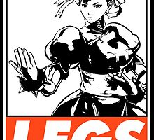 Chun-Li Legs Obey Design by SquallAndSeifer
