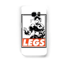 Chun-Li Legs Obey Design Samsung Galaxy Case/Skin