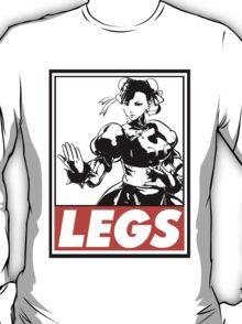 Chun-Li Legs Obey Design T-Shirt