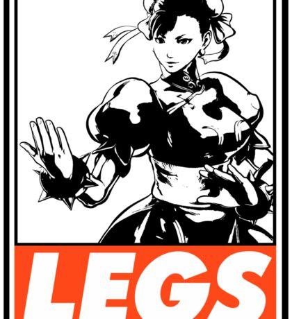 Chun-Li Legs Obey Design Sticker