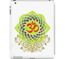 OM-Veda Mantra iPad Case/Skin