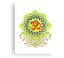 OM-Veda Mantra Canvas Print