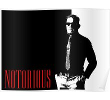 Conor McGregor - Notorious (Scarface Design) Poster
