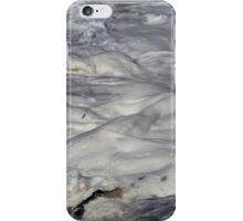 Turbulent Splash of a Momenary Water Sculpture iPhone Case/Skin