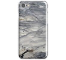Turbulent Splash of a Momenary Water Sculpture iPhone Case/Skin