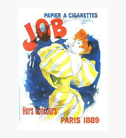 Vintage Jules Cheret Cigarette Advertising 1889 Photographic Print