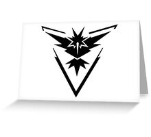 Team Instinct - Pokemon Go Greeting Card