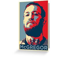 connor mc gregor Greeting Card