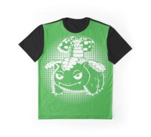 Flower Toad Graphic T-Shirt