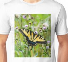 Eastern Tiger Swallowtail Butterfly Unisex T-Shirt