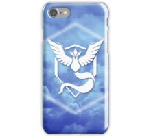 Team Mystic Cloud Logo iPhone Case/Skin