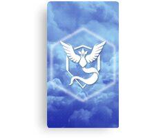 Team Mystic Cloud Logo Canvas Print