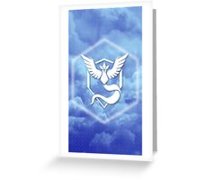 Team Mystic Cloud Logo Greeting Card