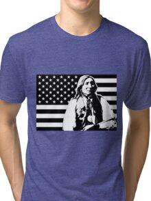LONE WOLF (FLAG)-2 Tri-blend T-Shirt