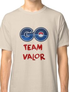 GO Team Valor - Pokemon Go Classic T-Shirt