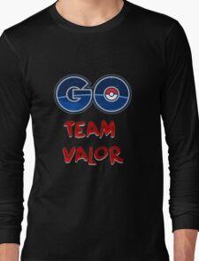 GO Team Valor - Pokemon Go Long Sleeve T-Shirt