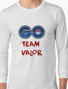 GO Team Valor - Pokemon Go Long Sleeve T-Shirt
