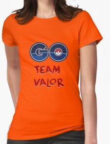 GO Team Valor - Pokemon Go Womens Fitted T-Shirt