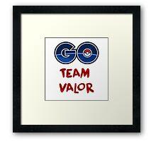GO Team Valor - Pokemon Go Framed Print