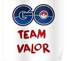 GO Team Valor - Pokemon Go Poster