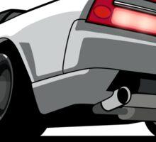 White Honda Acura NSX Sticker