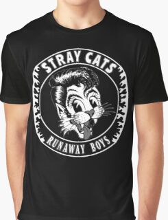 Stray Cats  (Runaway Boys) Graphic T-Shirt